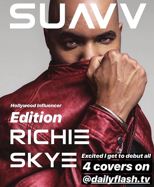 Richie Named Editor-At-Large of SUAVV Magazine