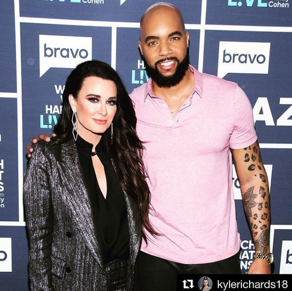 Richie Skye Joins Kyle Richards on WWHL