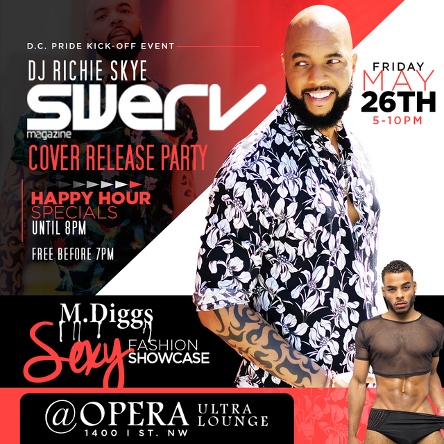 Richie Skye to Host Swerv Magazine Launch Party