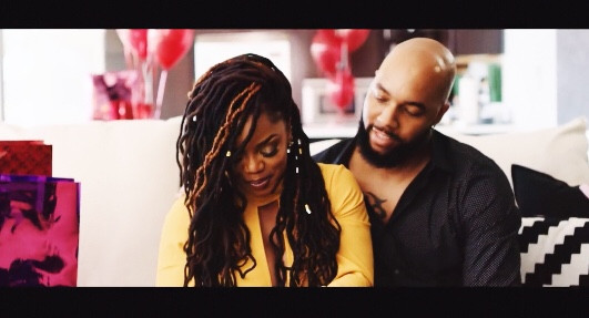 "Richie Skye Featured in Leela James' ""All Over Again"" Video"