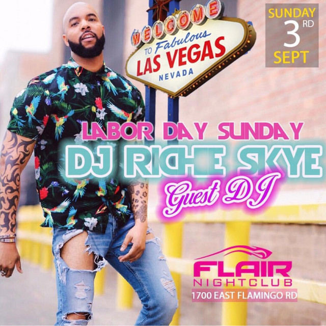 Richie Skye In Vegas For Labor Day Weekend!
