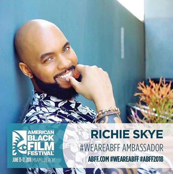 Richie Skye Announced As 2018 ABFF Ambassador