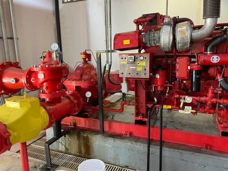 Inspeção nos Sistemas de Proteção Contra Incêndio