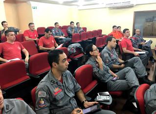 Aula de SPK para os Oficiais do Corpo de Bombeiros