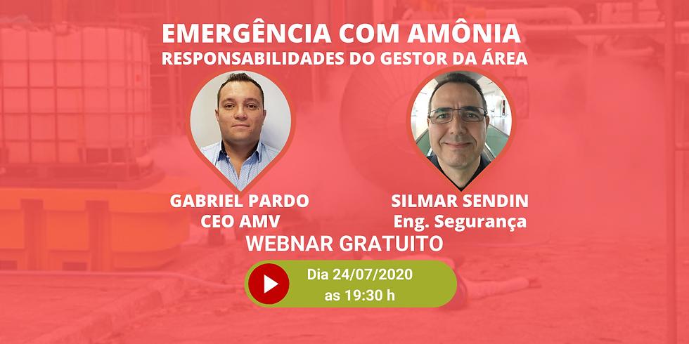 EMERGÊNCIA COM AMÔNIA - RESPONSABILIDADES DO GESTOR DA ÁREA