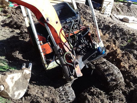 Ditch Digging Disaster