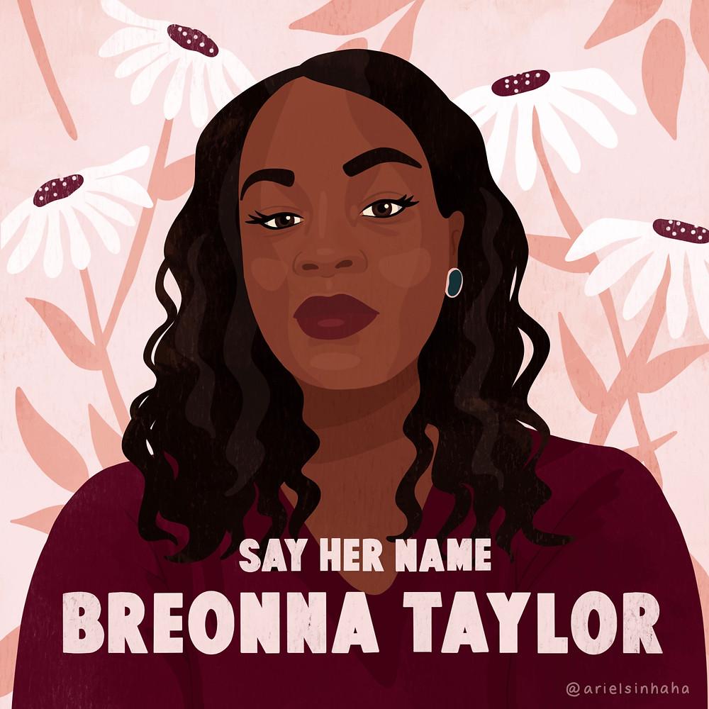 illustration of Breonna Taylor