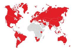 Global Presence of Würth Group