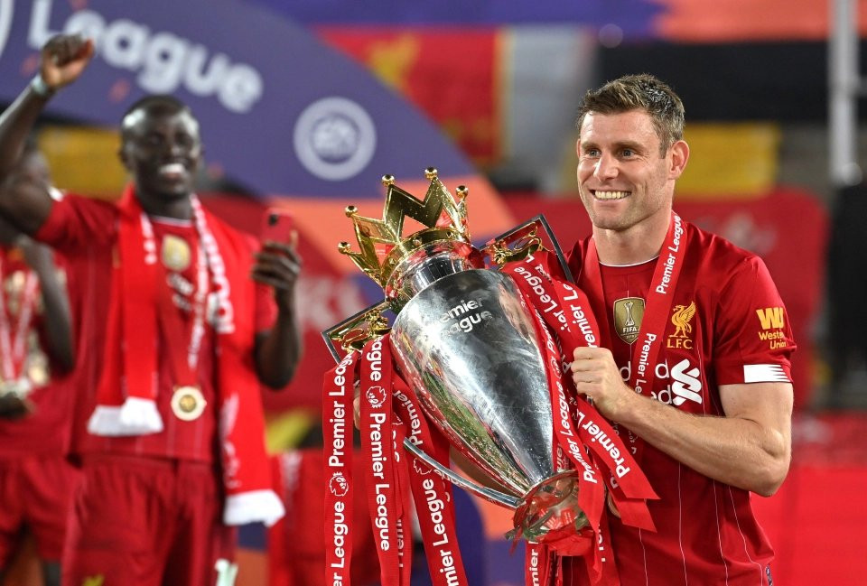 Recordista: Milner é o 5º jogador da história ao alcançar 550 jogos de Premier League!  Fonte @LFC