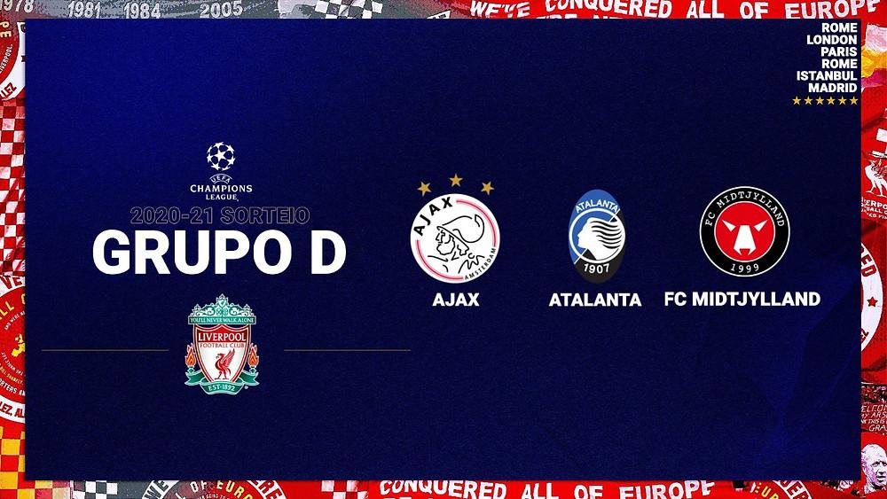 Grupo quase da morte?, by Liverpool FC