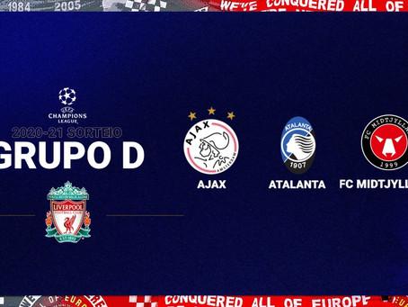 Nosso caminho na Champions está traçado, vamos Liverpool!