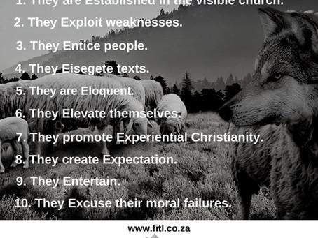 10 Ways False Teachers Ensnare People