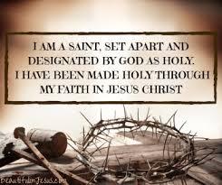Who Am I? I Am a Saint