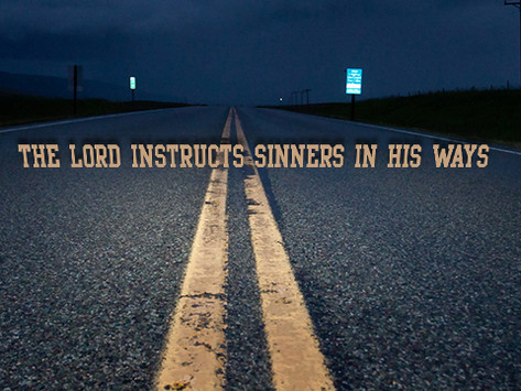 The Lord Shows the Proper Path to Those Who Go Astray