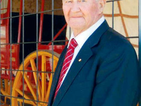 Wally Mitchell our Citizen of the Year