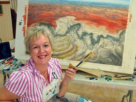 New exhibition for Bourke's resident artist