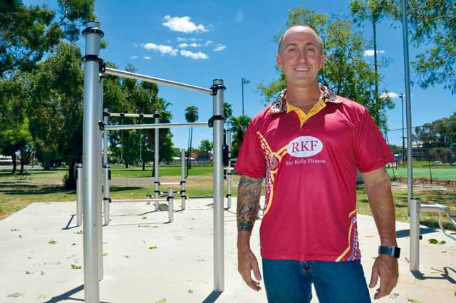 Fitness specialist Ray Kelly is in Bourke – and he's on a mission. He wants to help build a healthier community, not through brutal workouts or miserable food rationing but with education.