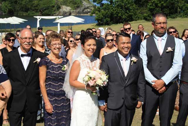 Kenny Gaffney and Tina Budd Wedding