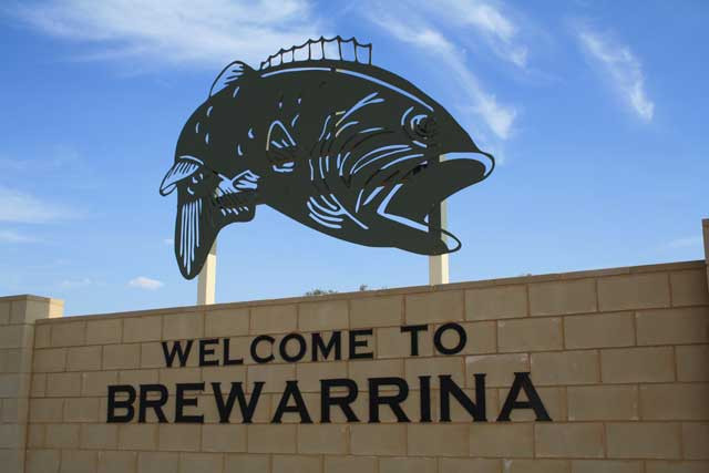 Great signs for Brewarrina!