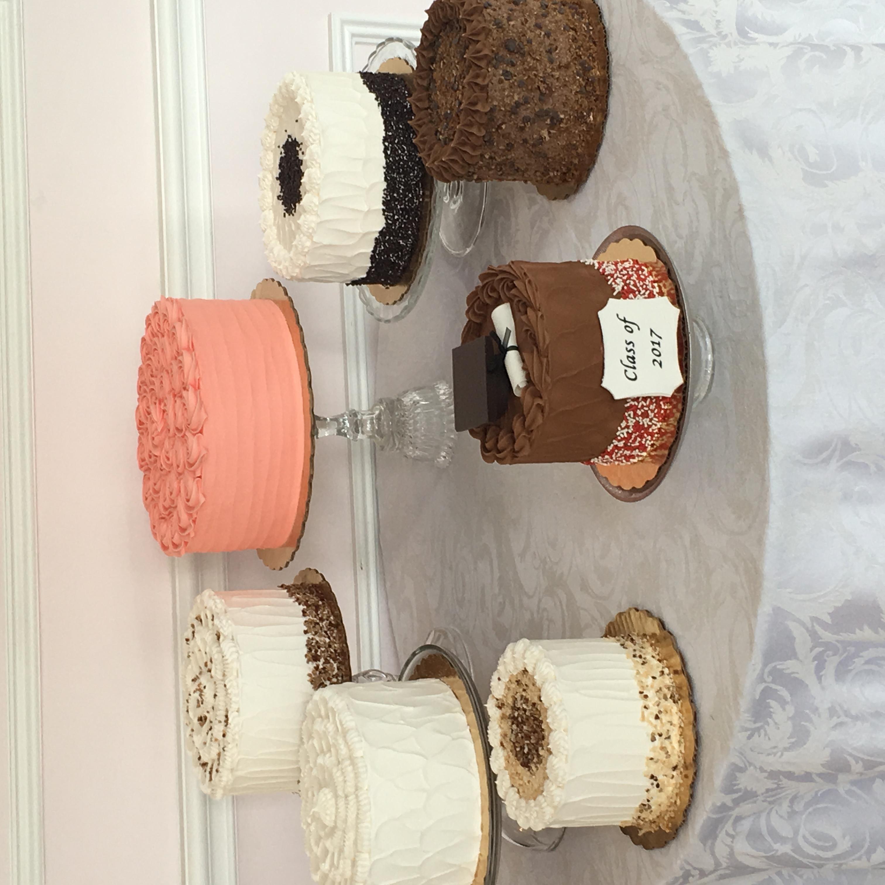 Elegant Dessert Cakes