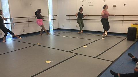 Cheerleader Workshop at Revamp Contemporary Dance Company