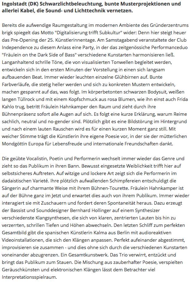 rezension_künstlerinnentage_ingolstadt.p