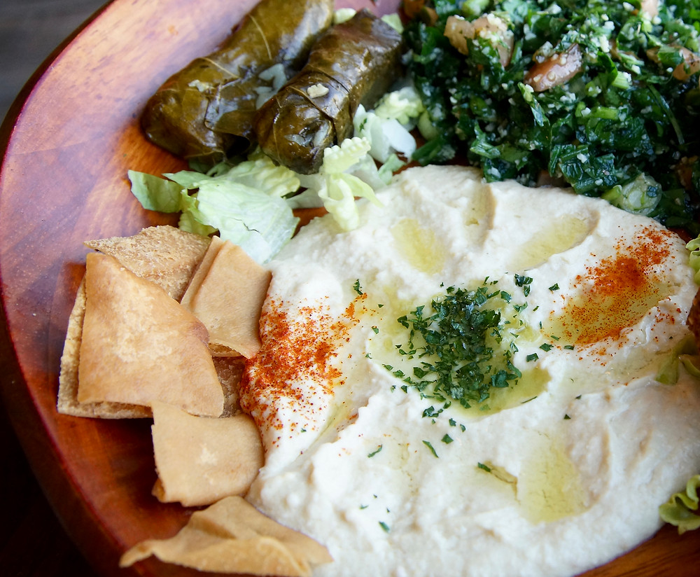 Lebanese Salad Zaytoon's Bistro | All of the things CT
