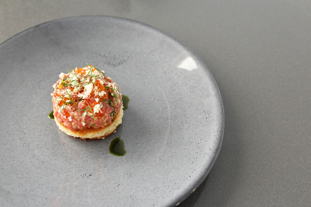 Beef Tartare | On20 | All of the Things CT