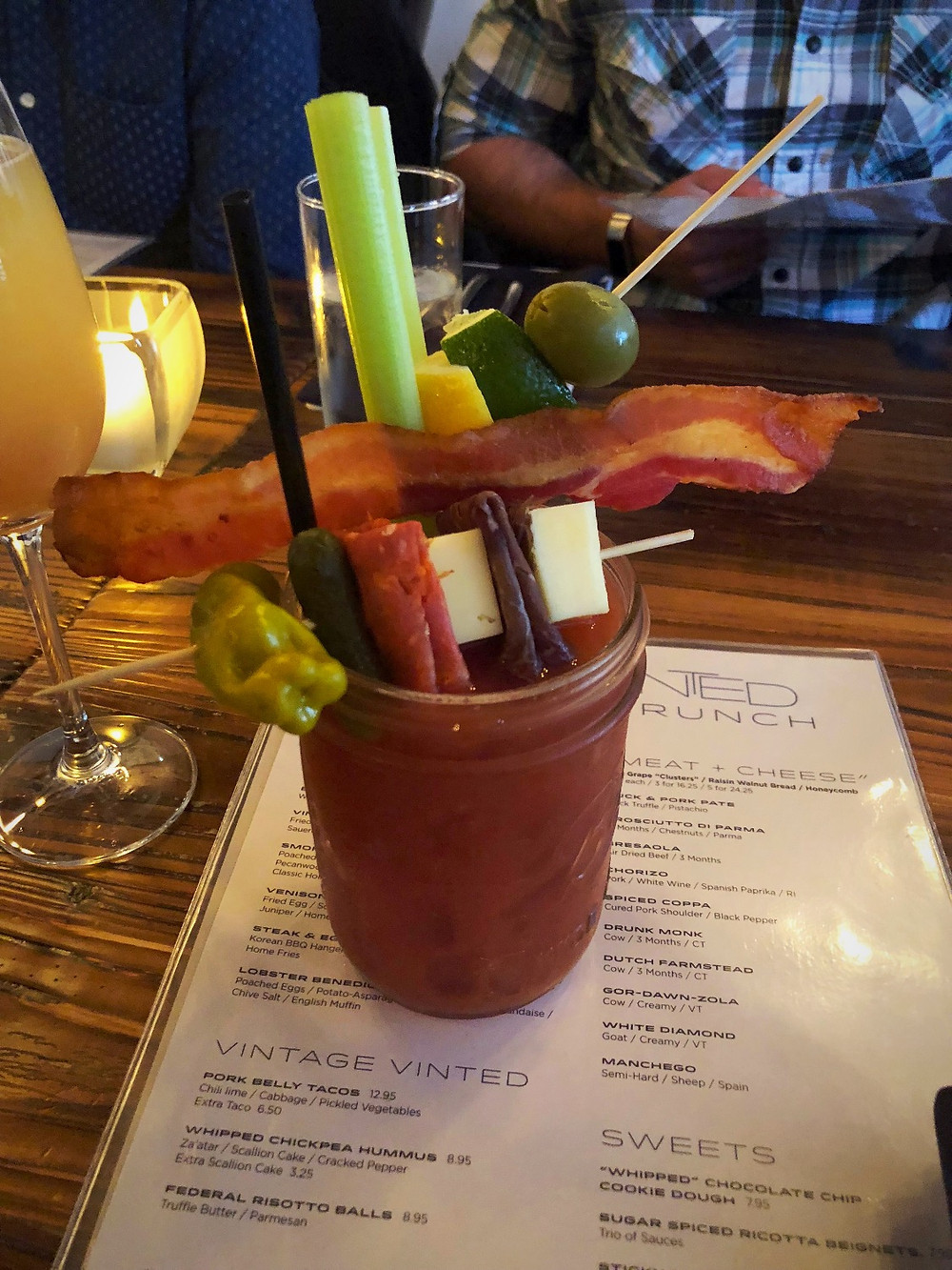 Loaded Bloody Mary | Brunch Club | Vinted Wine Bar