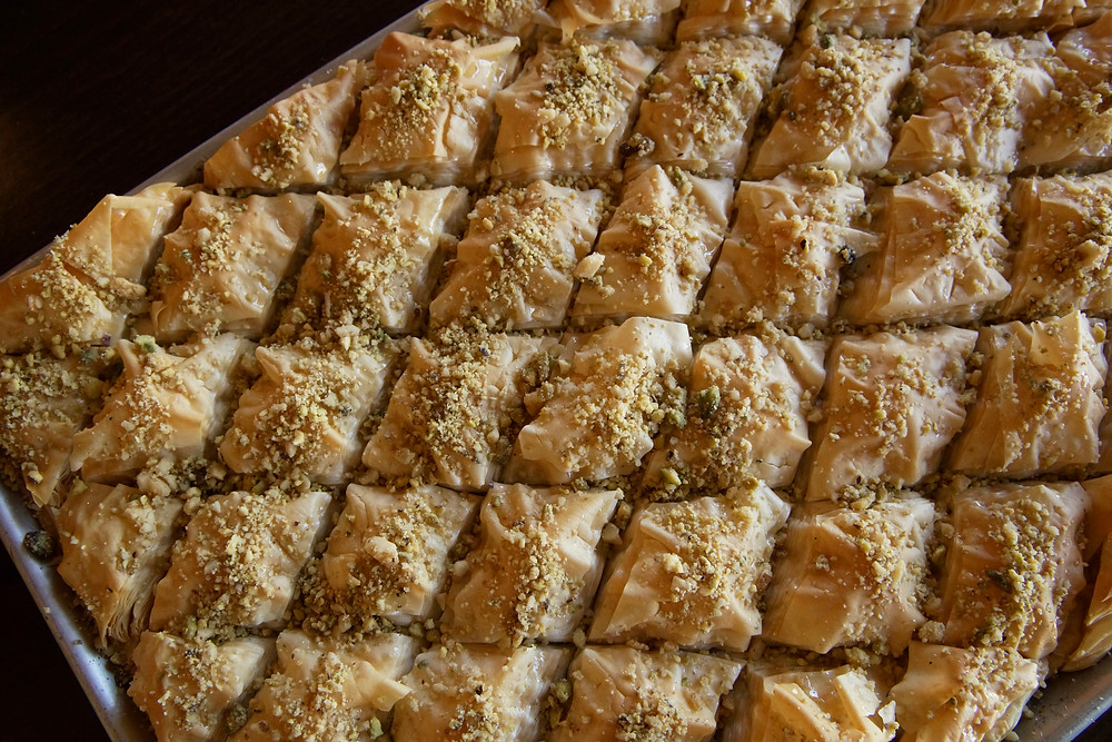 baklava Zaytoon's Bistro | All of the things CT