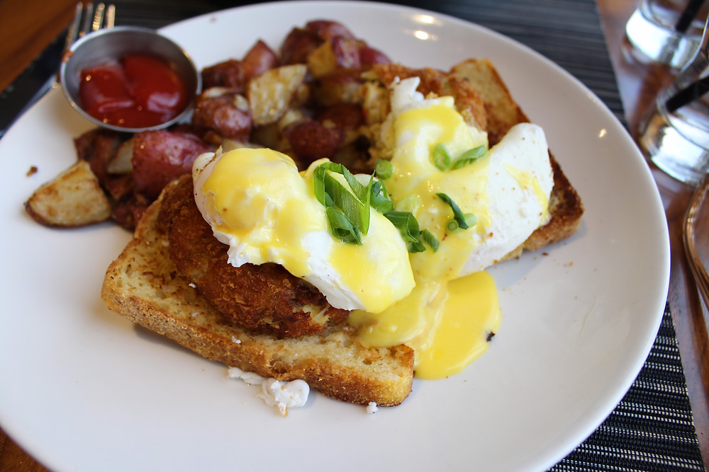 Crab Cake Benedict | Brunch Club: @ The Barn