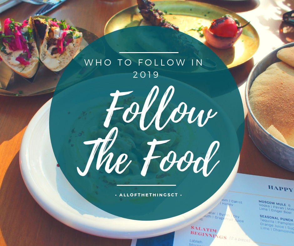 Follow The Food: Who To Follow 2019