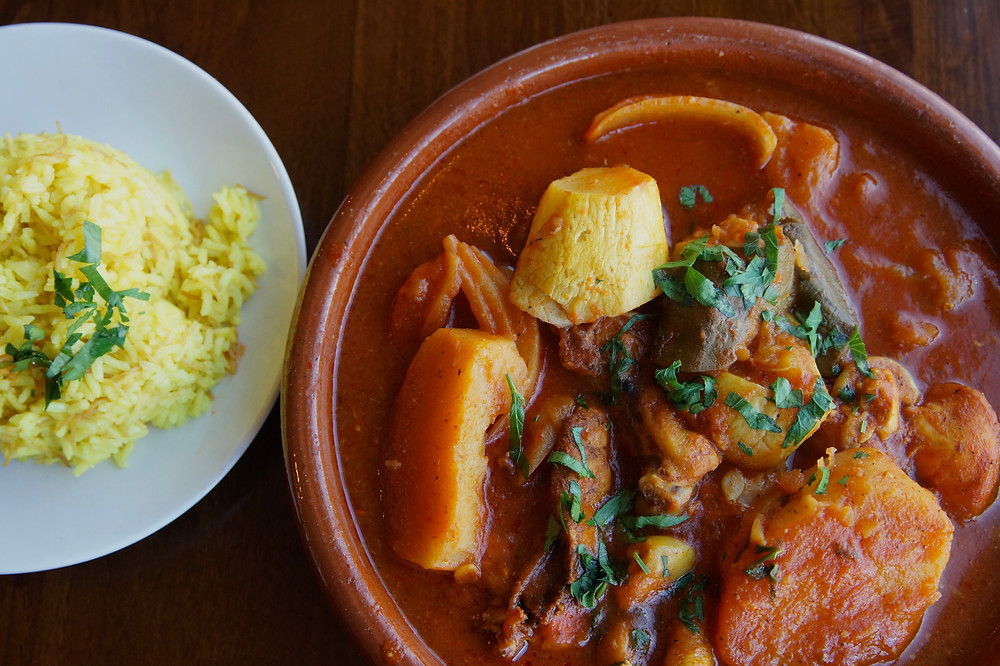Chicken Tagine Zaytoon's Bistro | All of the things CT