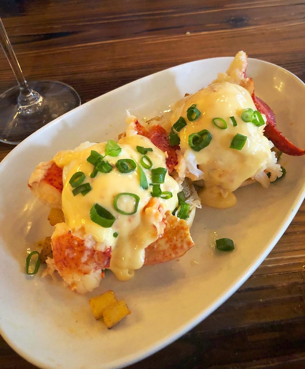 Lobster Benedict | Vinted Wine Bar Brunch Club