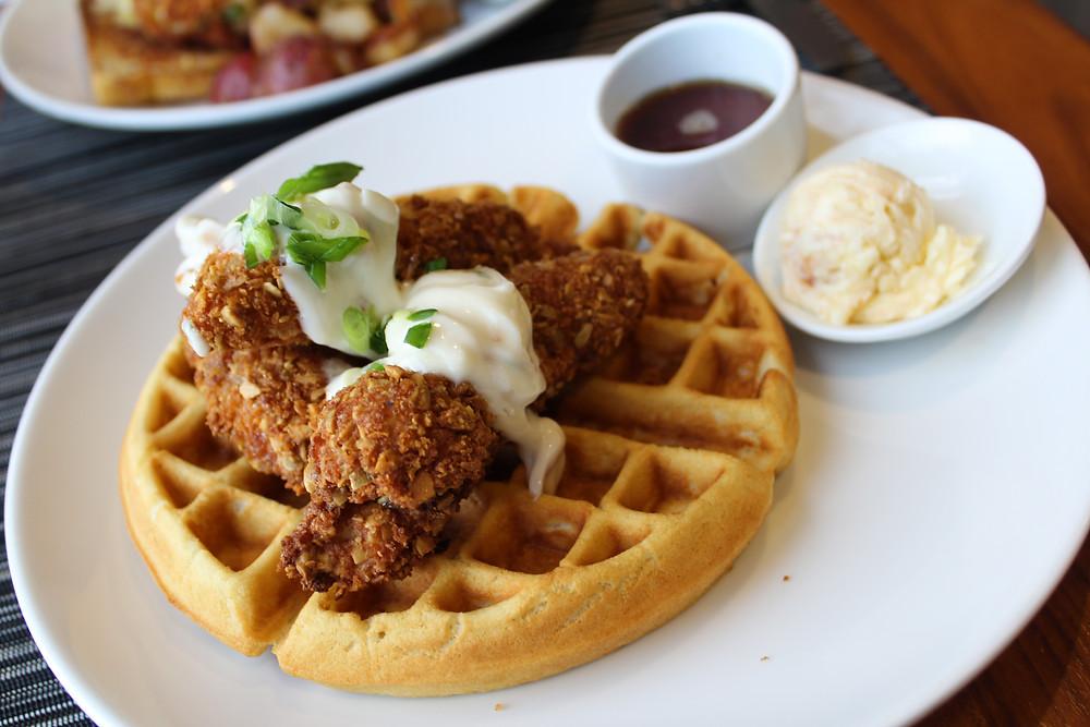 Chicken & Waffles | @The Barn