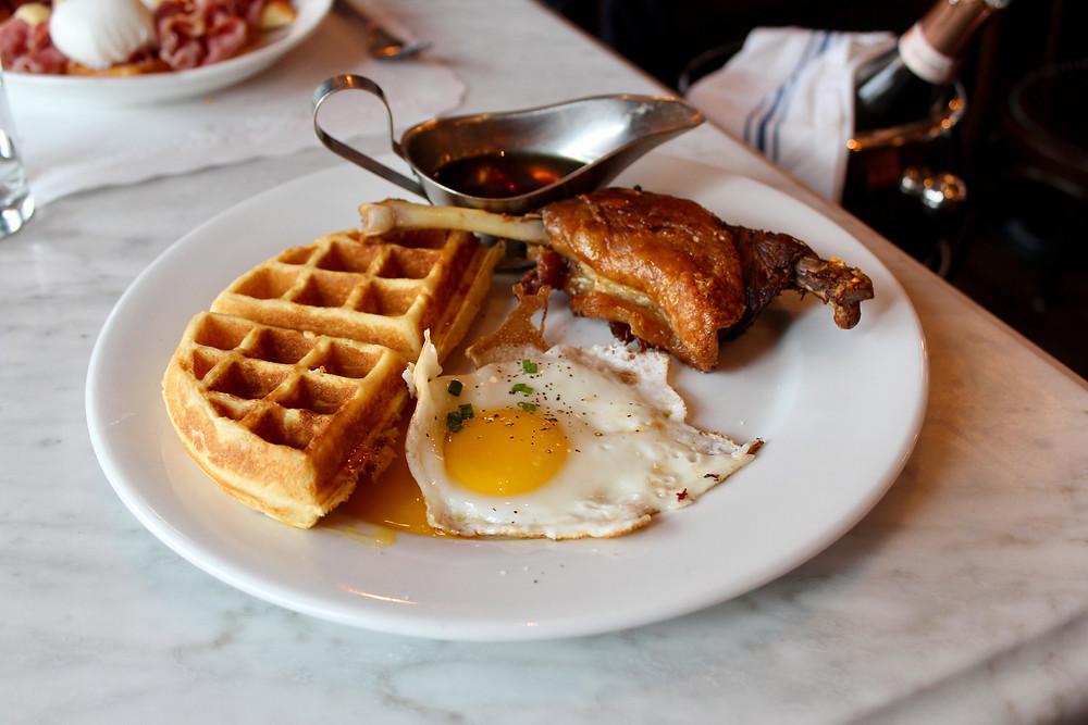 Duck Waffle Avert Brasserie West Hartford