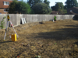 Foundations for New Apartments