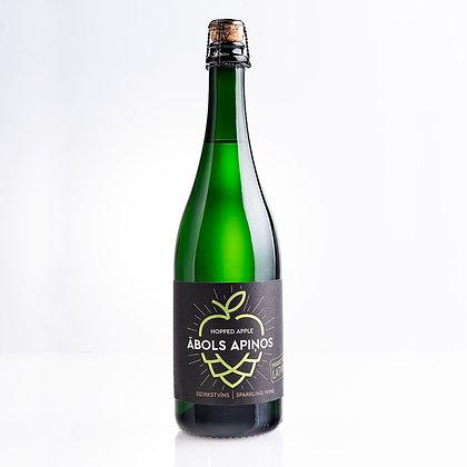 Хмельное яблоко Abavas, игристое вино 0,75 л 7,5%
