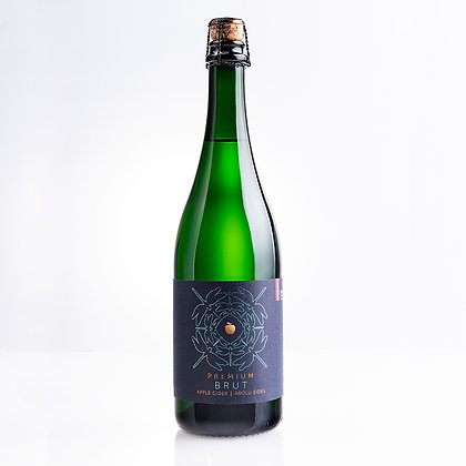 Abavas Ābolu sidrs Premium bruts 0.75L 8.5%