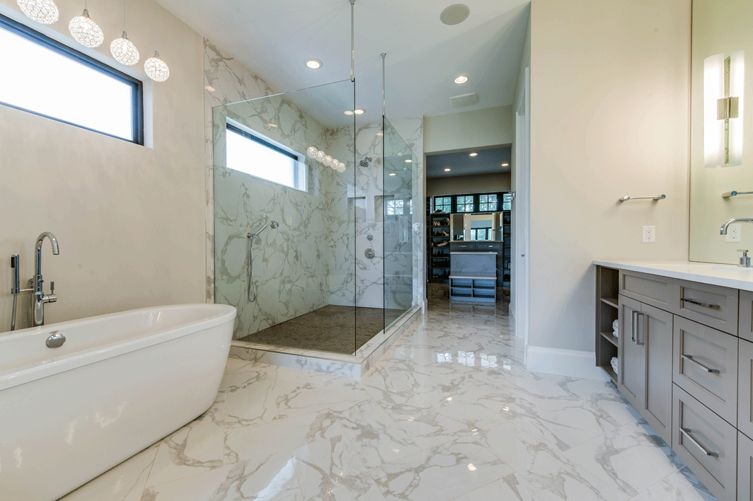 Master Bath TRUE Design Naples FL