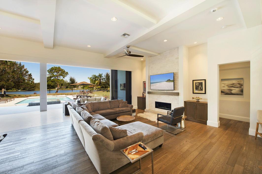 Living Room TRUE Design Naples FL