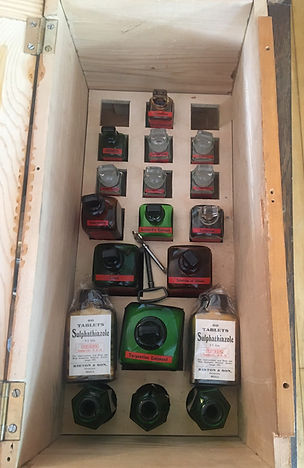 ships medicine chest - poison cabinet