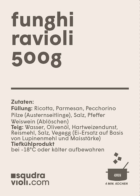 Ravioli di Funghi / 500g