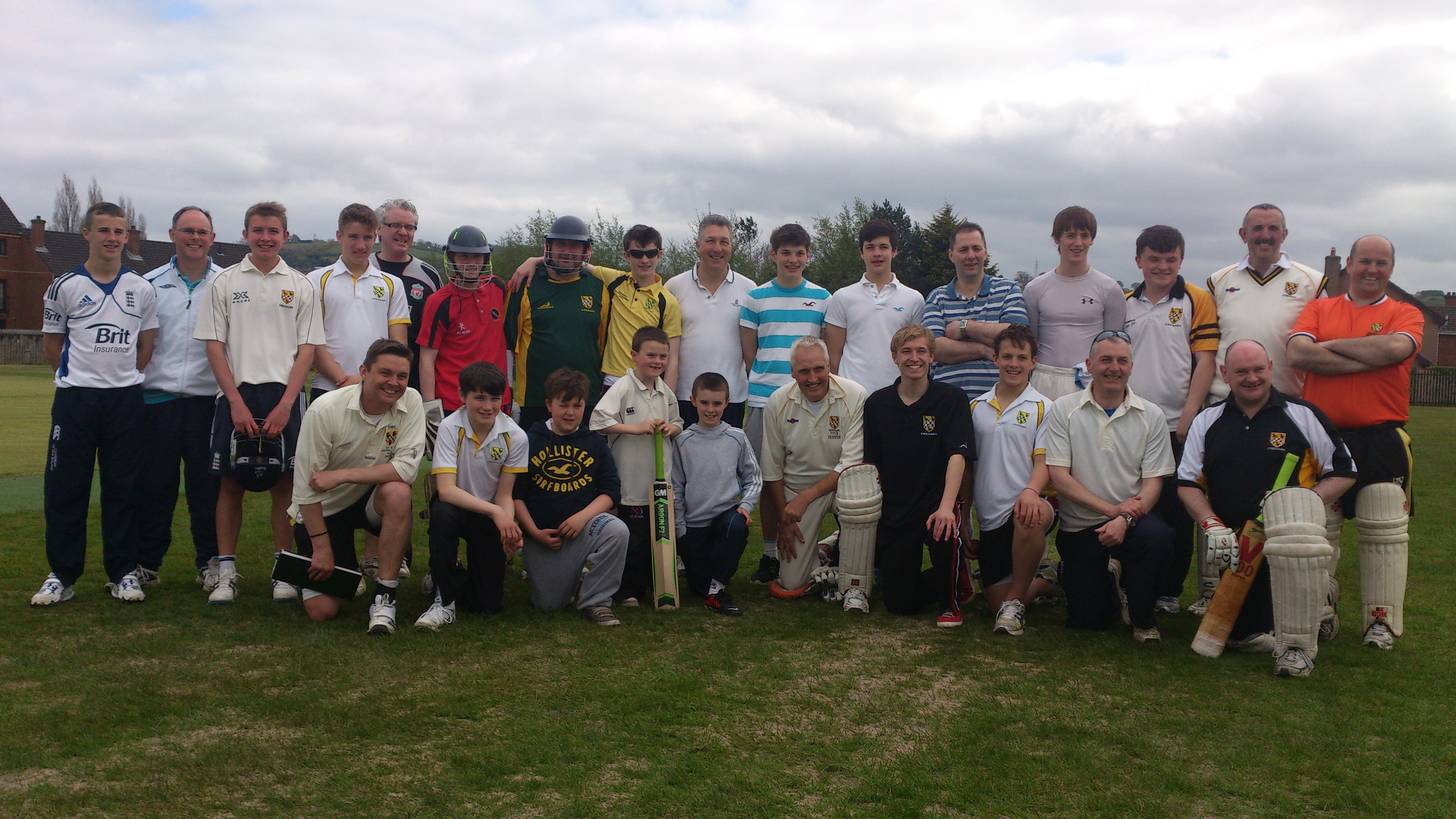 Lads v Dads - May 2013