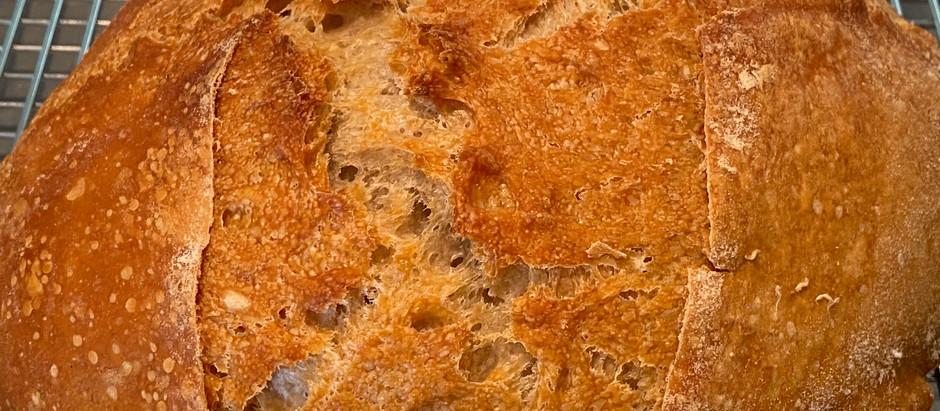 Pane Rustico in Dutch oven