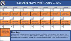 2019 Nov - Holmen