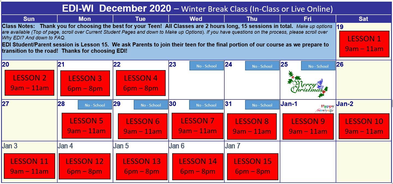 Onalaska Dec 2020