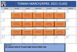 Tomah March April