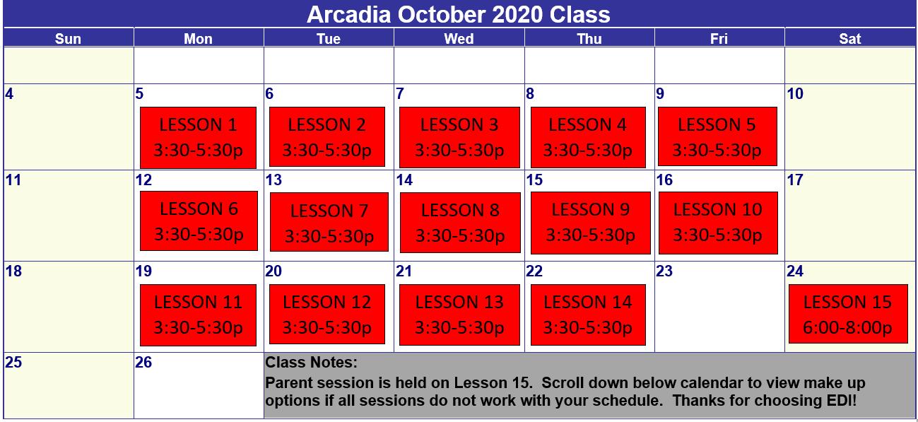 Arcadia Oct 2020
