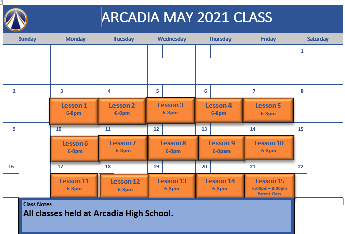 Arcadia May 2021